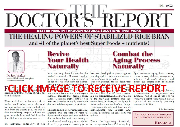 FREE Zeal For Life Doctor's Report